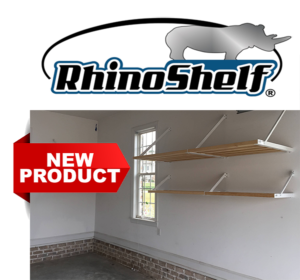 Rhino Shelf heavy duty garage shelves for storage